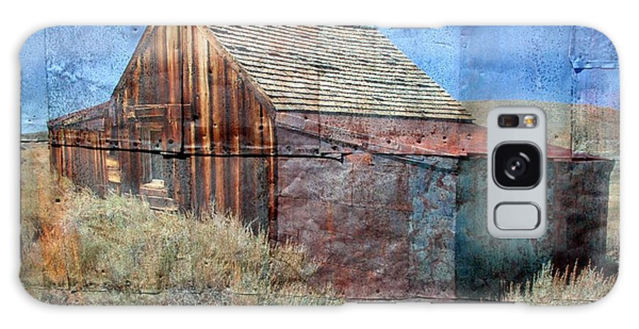 Old Building Galaxy S8 Case featuring the photograph Bodie Tin by Mary Bluepony