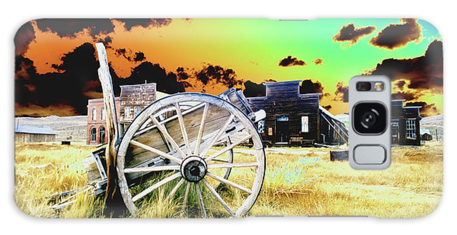 Bodie Galaxy S8 Case featuring the photograph Bodie Wagon by Jim And Emily Bush