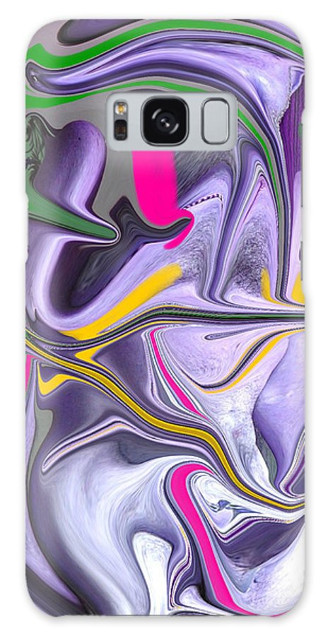 Abstract Galaxy S8 Case featuring the photograph Body Language by Allan Hughes