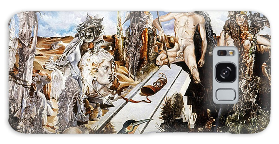 Surrealism Galaxy S8 Case featuring the painting Bogomils Court by Otto Rapp
