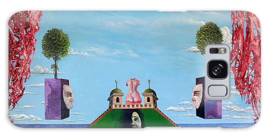 Painting Galaxy Case featuring the painting Bogomils Monastic Retreat by Otto Rapp