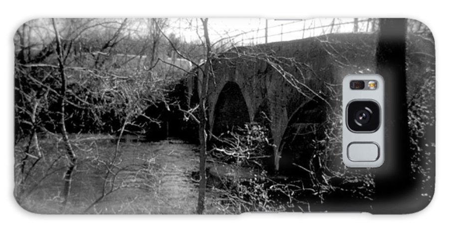 Photograph Galaxy Case featuring the photograph Boiling Springs Bridge by Jean Macaluso