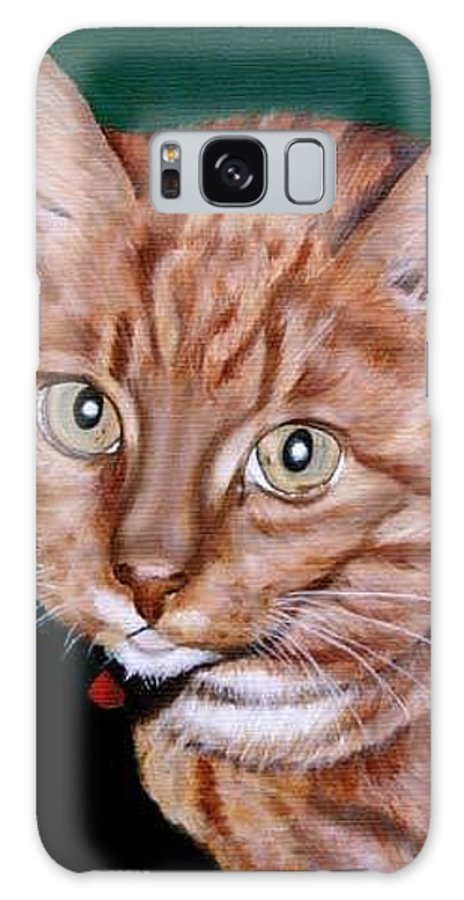 Pets Galaxy S8 Case featuring the painting Boris by Rob De Vries