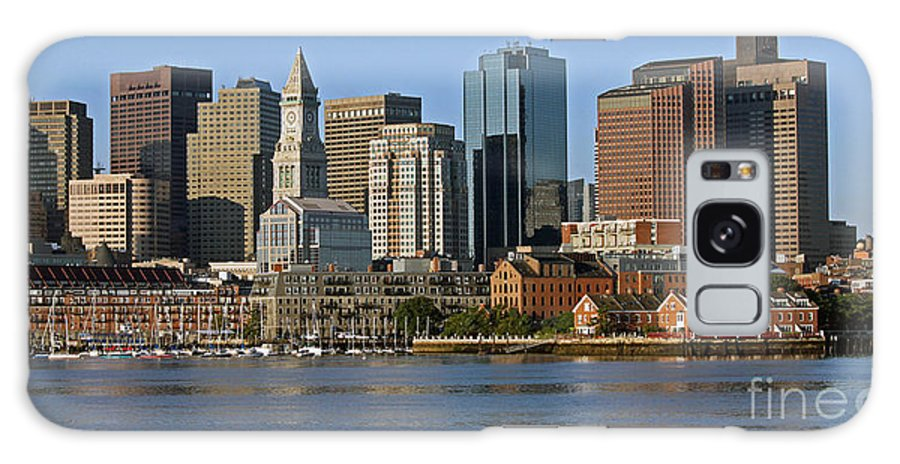 Boston Galaxy S8 Case featuring the photograph Boston Waterfront by Steve Gass