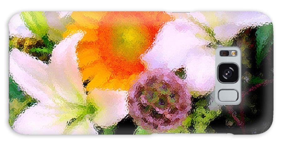 Sun Galaxy S8 Case featuring the photograph Bouquet Softly There by Ian MacDonald