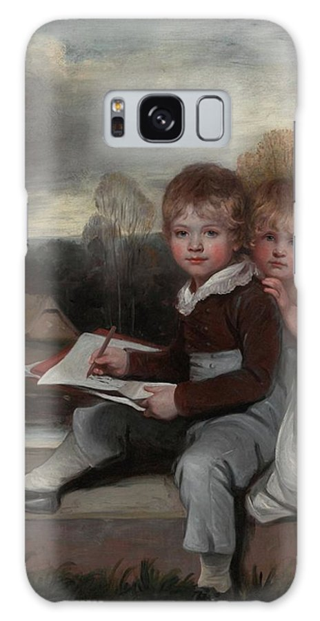 John Hoppner Galaxy S8 Case featuring the painting Bowden Children by MotionAge Designs