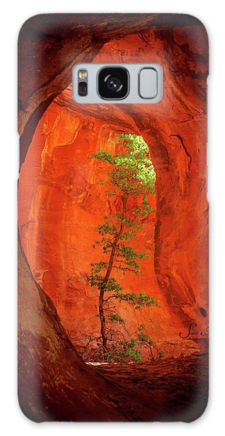 Sedona Galaxy S8 Case featuring the photograph Boynton Canyon 04-343 by Scott McAllister