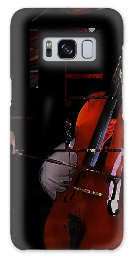 Bach Galaxy S8 Case featuring the digital art Brandenburg In Autumn by Ken Walker