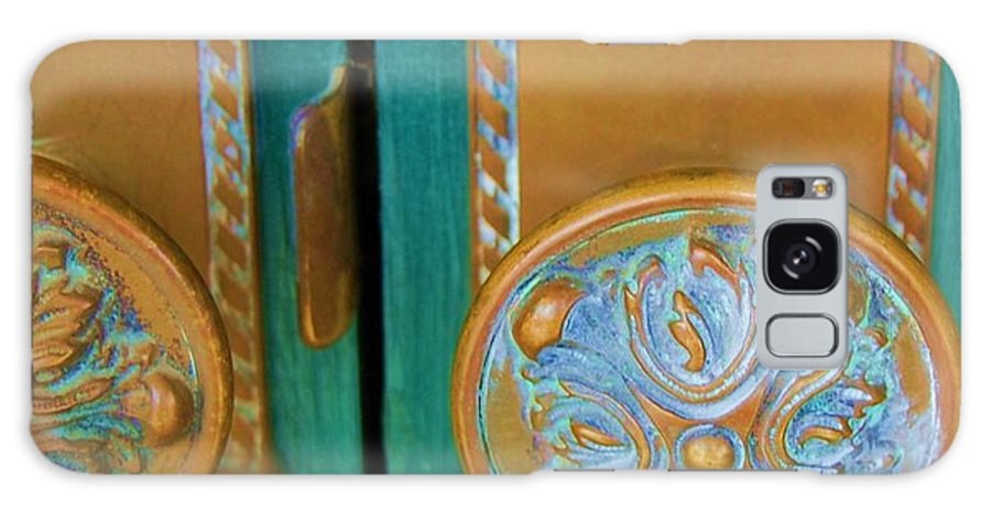 Door Galaxy S8 Case featuring the photograph Brass Is Green by Debbi Granruth