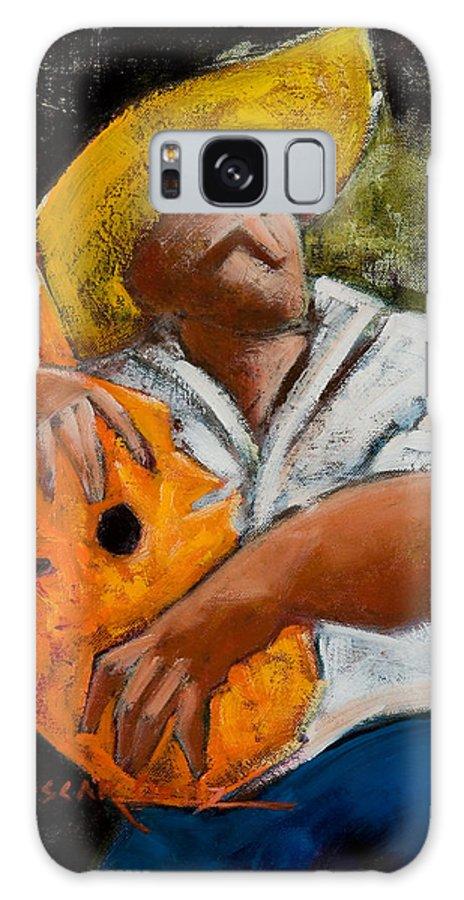 Puerto Rico Galaxy S8 Case featuring the painting Bravado Alla Prima by Oscar Ortiz