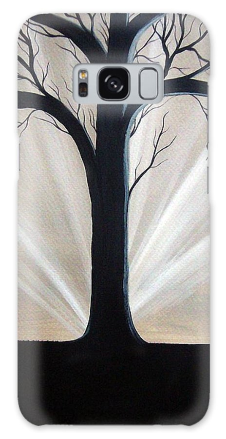 Tree Galaxy S8 Case featuring the painting Breaking Dawn by Katie Slaby