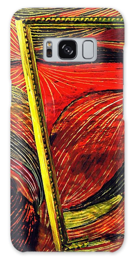 Wave Galaxy S8 Case featuring the mixed media Breakthrough by Sarah Loft