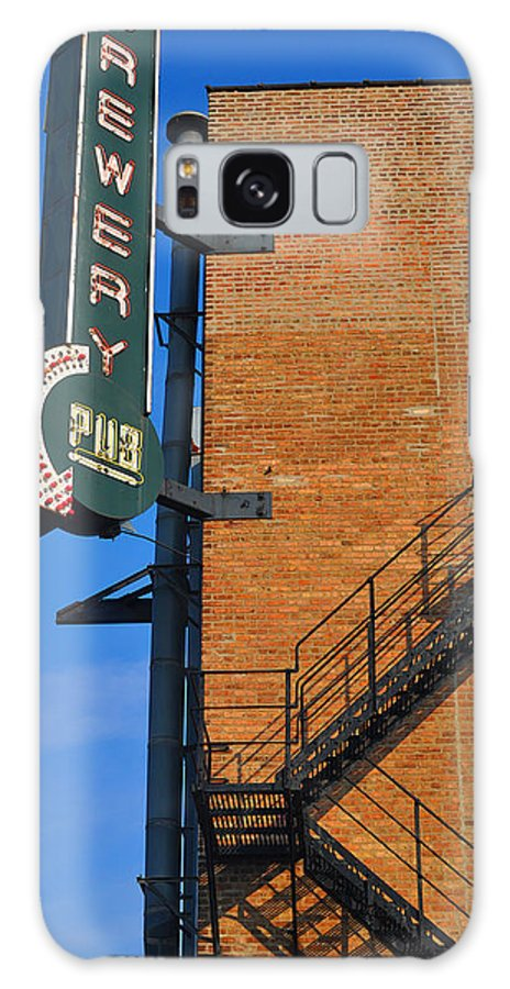 Chicago Galaxy S8 Case featuring the photograph Brewery Pub by Tim Nyberg