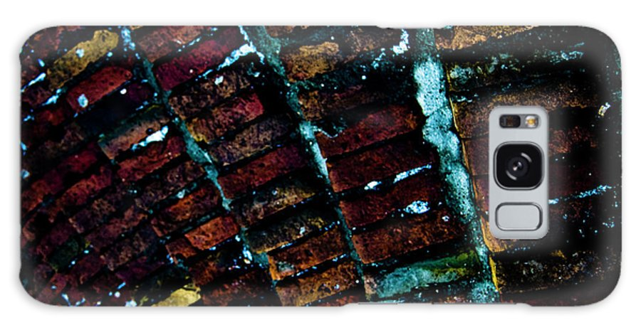 Brick Galaxy S8 Case featuring the photograph Brick Steps by Grebo Gray