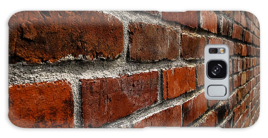 Brick Galaxy S8 Case featuring the photograph Brick Wall With Perspective by Blake Webster