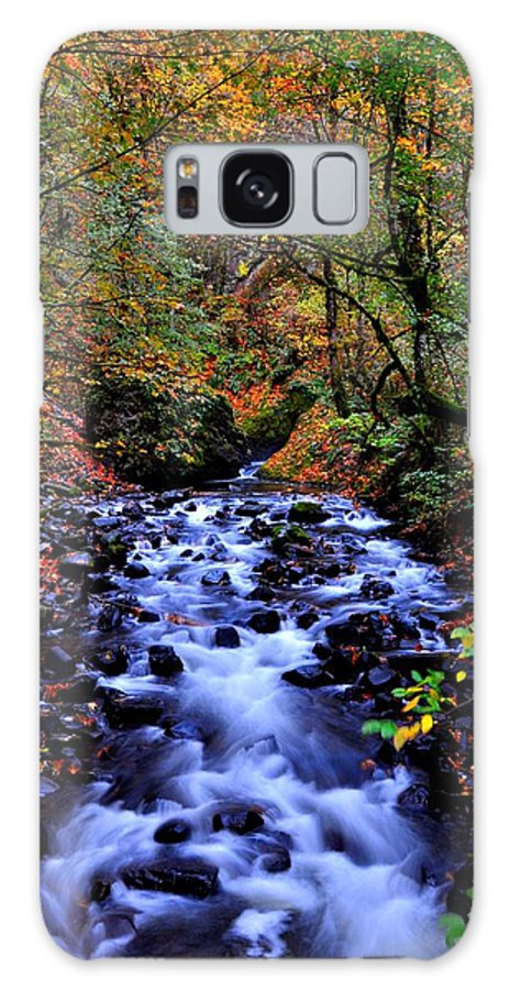 Stream Galaxy S8 Case featuring the photograph Bridal Veil Creek by Noah Cole