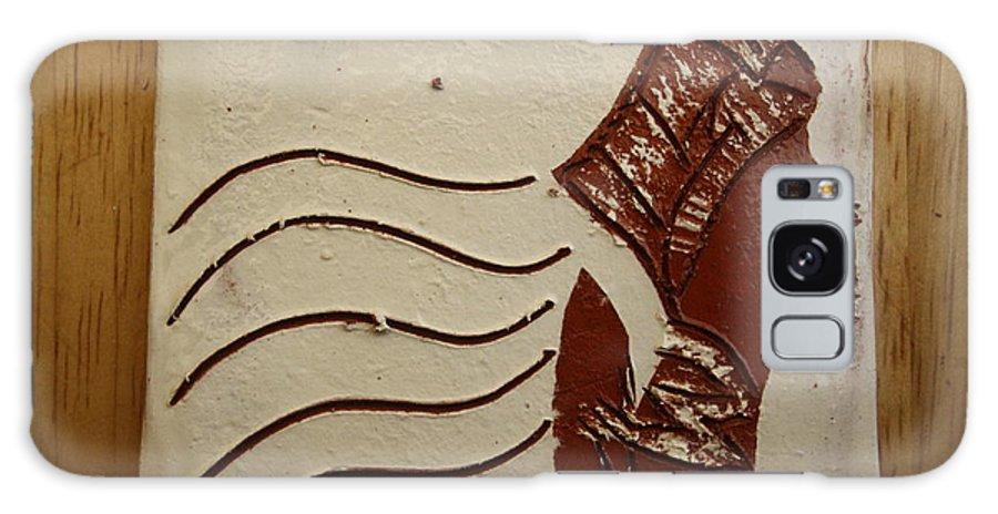 Jesus Galaxy S8 Case featuring the ceramic art Bride 10 - Tile by Gloria Ssali