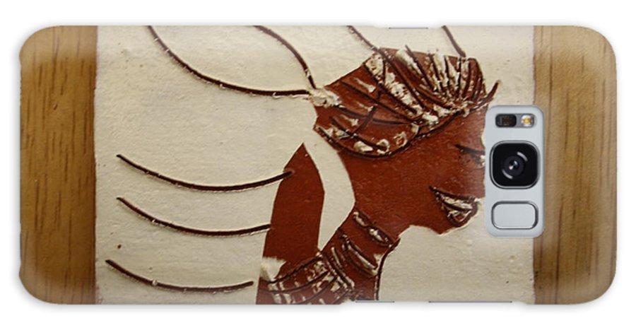 Jesus Galaxy S8 Case featuring the ceramic art Bride 12 - Tile by Gloria Ssali