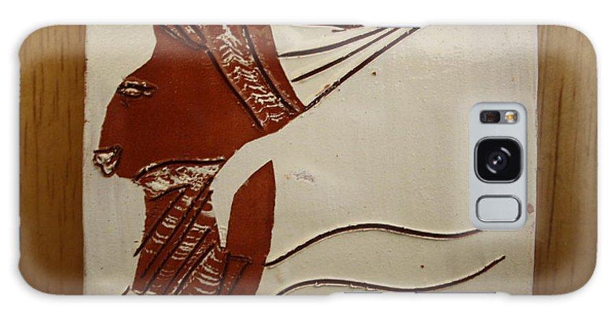 Jesus Galaxy S8 Case featuring the ceramic art Bride 3 - Tile by Gloria Ssali
