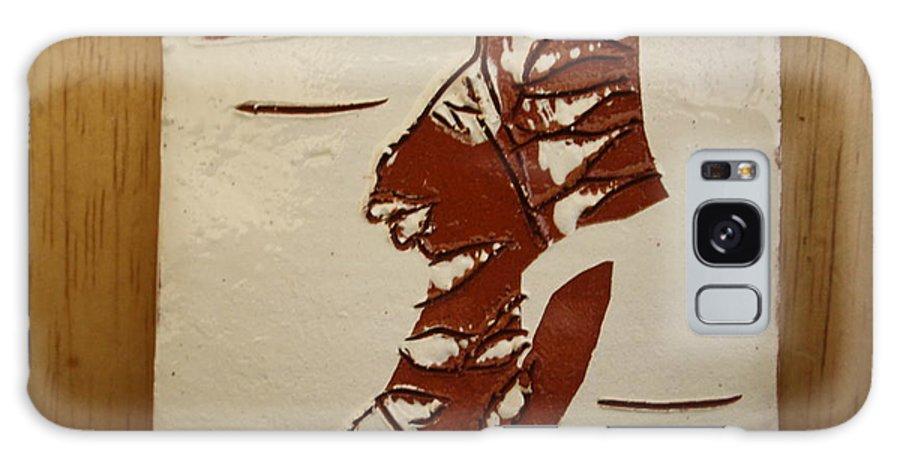 Jesus Galaxy S8 Case featuring the ceramic art Bride 5 - Tile by Gloria Ssali