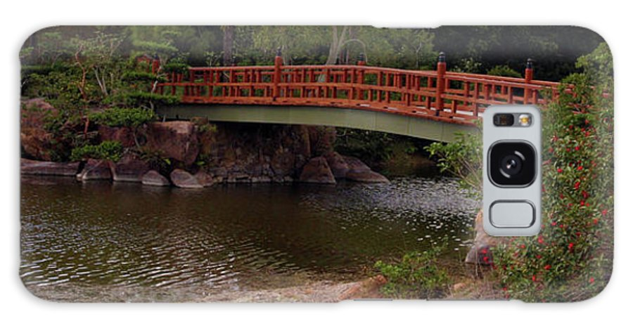 Bridge Galaxy S8 Case featuring the photograph Bridge At Morikami by Bruce Gaynor