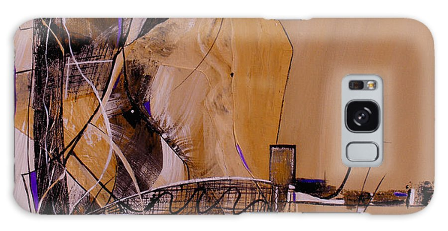 ruth Palmer Galaxy Case featuring the painting Bridge Over Troubled Water by Ruth Palmer