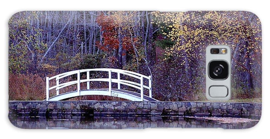 Bridge Galaxy S8 Case featuring the photograph Bridge To Serenity by Faith Harron Boudreau