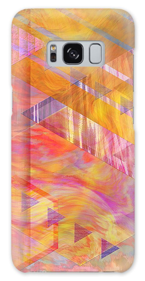 Affordable Art Galaxy S8 Case featuring the digital art Bright Dawn by John Beck
