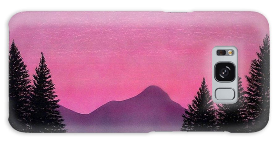 Landscape Galaxy Case featuring the painting Brightness by Frank Wilson