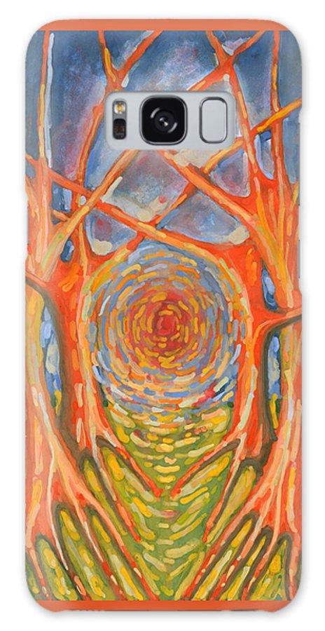 Colour Galaxy S8 Case featuring the painting Brightness by Wojtek Kowalski