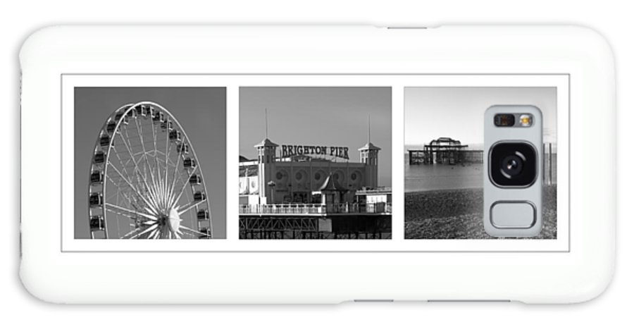 Brighton Galaxy S8 Case featuring the photograph Brighton Old And New by Hazy Apple