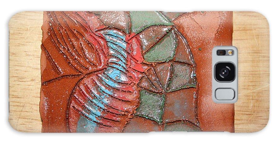 Jesus Galaxy S8 Case featuring the ceramic art Brightspot - Tile by Gloria Ssali