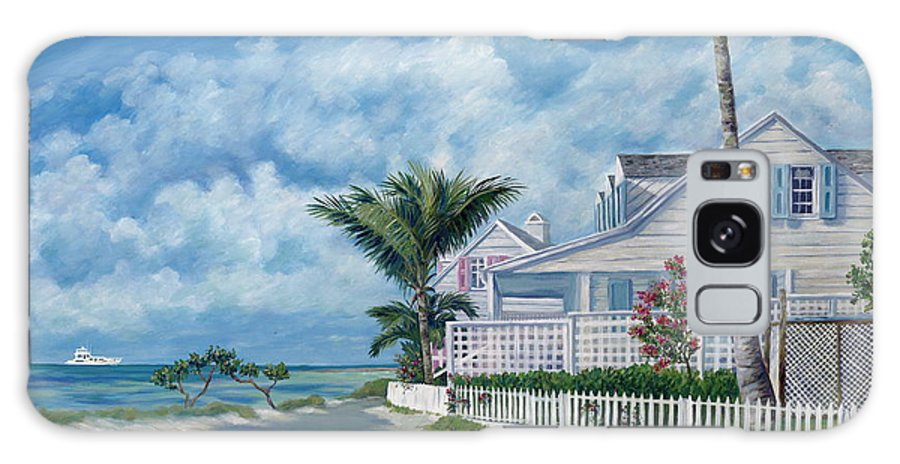 Harbor Island Galaxy Case featuring the painting Briland Breeze by Danielle Perry