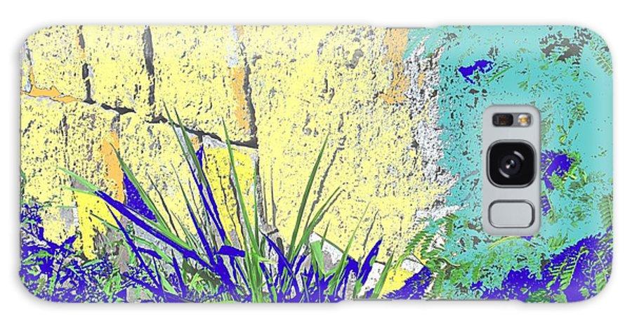 Brimstone Galaxy Case featuring the photograph Brimstone Blue by Ian MacDonald
