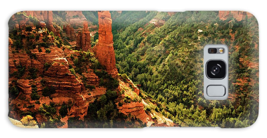 Arizona Galaxy S8 Case featuring the photograph Brins Mesa 07-143 by Scott McAllister