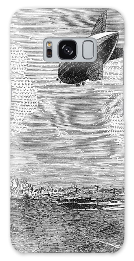 1919 Galaxy S8 Case featuring the photograph British Airship, 1919 by Granger