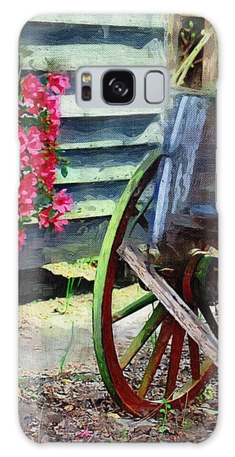 Wagon Galaxy S8 Case featuring the photograph Broken Wagon by Donna Bentley