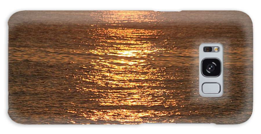 Ocean Galaxy S8 Case featuring the photograph Bronze Reflections by Nadine Rippelmeyer