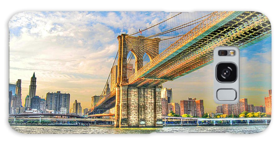 Brooklyn Bridge Galaxy S8 Case featuring the photograph Brooklyn Bridge by Randy Aveille