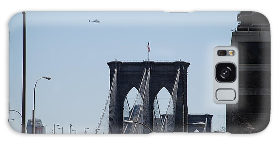 Architecture Galaxy Case featuring the photograph Brooklyn Bridge by Rob Hans