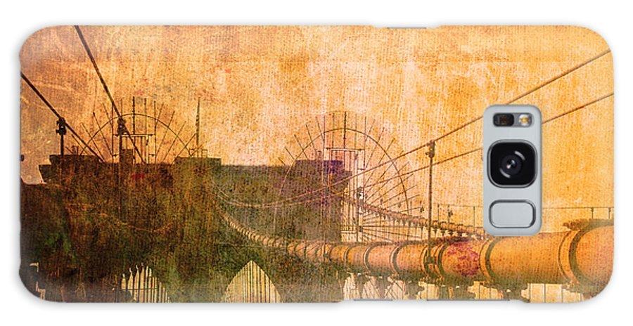 Brooklyn Bridge Galaxy S8 Case featuring the photograph Brooklyn Bridge Vintage by Alex Antoine