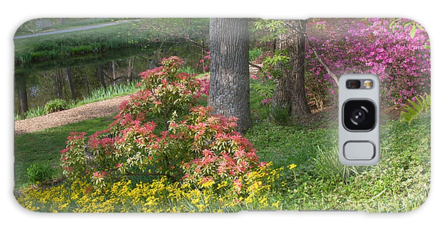 Spring Landscapes Galaxy S8 Case featuring the photograph Brookside Gardens 8 by Chris Scroggins