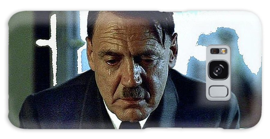 Bruno Ganz As Adolf Hitler Publicity Photo Number Two  Downfall 2004 Color Added 2016 Galaxy S8 Case featuring the photograph Bruno Ganz As Adolf Hitler Publicity Photo Number Two  Downfall 2004 Color Added 2016 by David Lee Guss