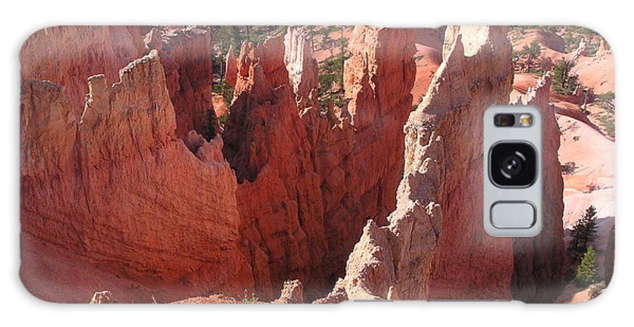 Bryce Galaxy Case featuring the photograph Bryce Canyon Look by Louise Magno