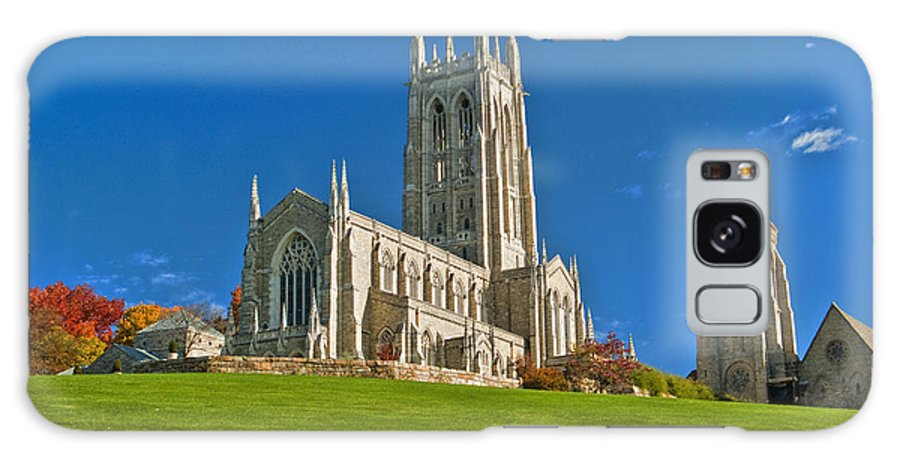 Bryn Athyn Cathedral Galaxy S8 Case featuring the photograph Bryn Athyn Cathedral Pennsylvania by David Zanzinger