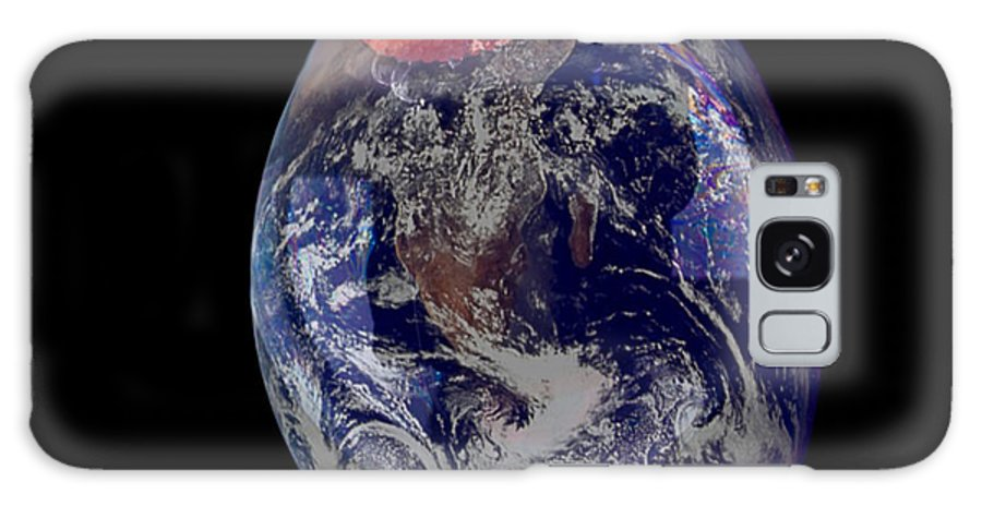 Earth Galaxy S8 Case featuring the photograph Bubble Earth by Jim DeLillo