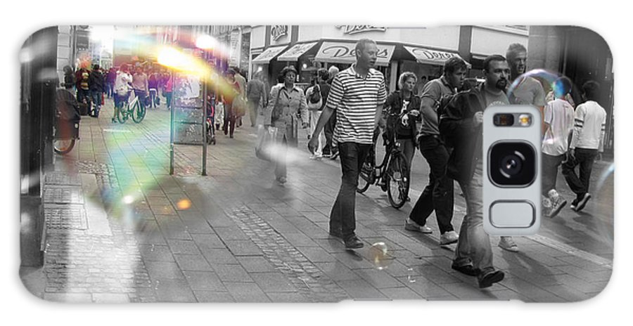 Photography Galaxy Case featuring the photograph Bubbles. Copenhagen. 2 by Cristina Rettegi