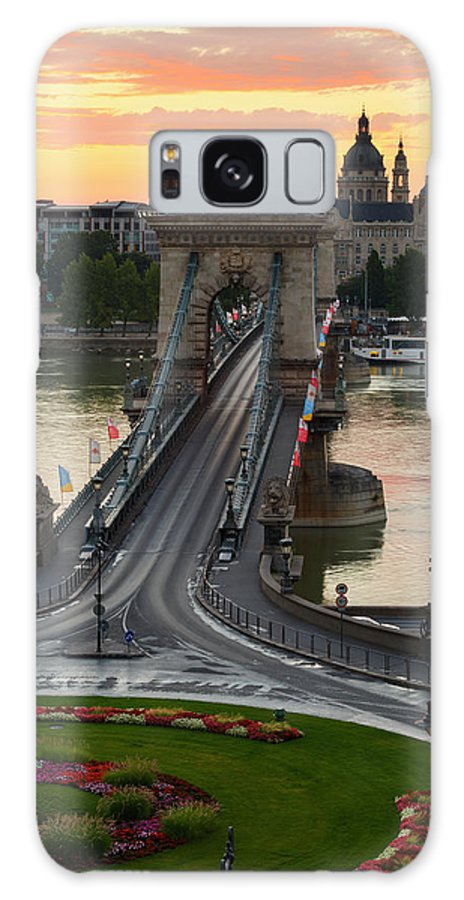 Budapest Galaxy S8 Case featuring the photograph budapest 'X by Milan Gonda