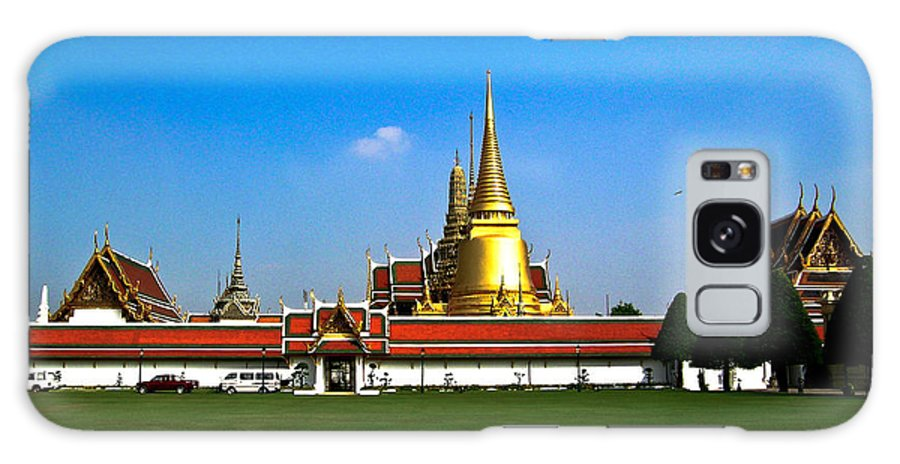 Buddha Galaxy S8 Case featuring the photograph Buddhaist Temple by Douglas Barnett