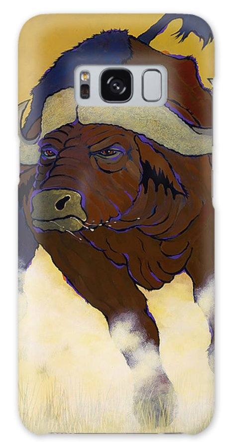 Capebuffalo Galaxy S8 Case featuring the photograph Buffalo Fury by Ken Church